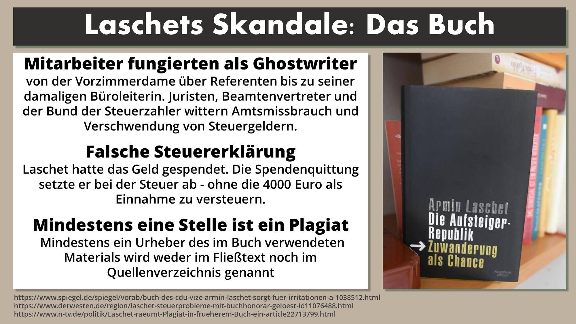 Laschet Skandal Buch